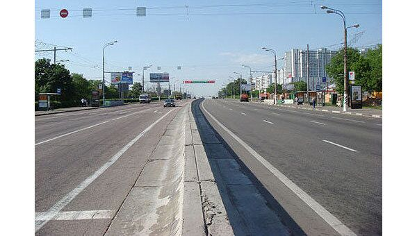 Варшавское шоссе в Москве. Архив