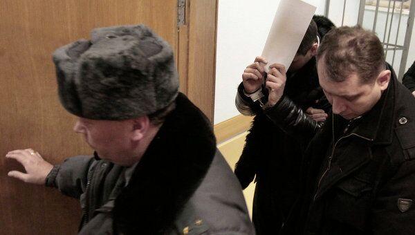 Арест задержанных по уголовному делу об избиении эколога и общественного деятеля Константина Фетисова в Химкинском городском суде