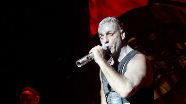 Концерт группы Rammstein в Москве.