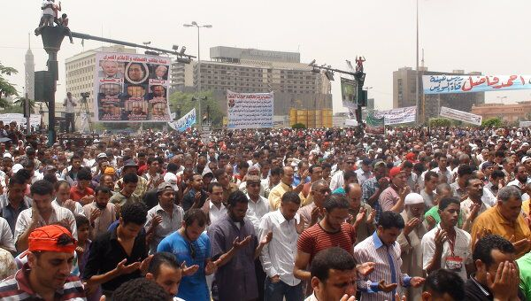 Демонстрация на площади Тахрир. Архив