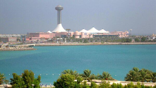 Абу-Даби в ОАЭ. Архив