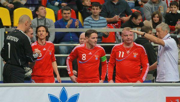Футболисты сборной России на Кубке легенд