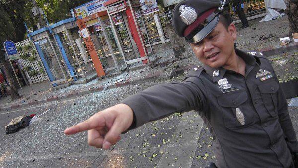 Последствия взрыва в Бангкоке