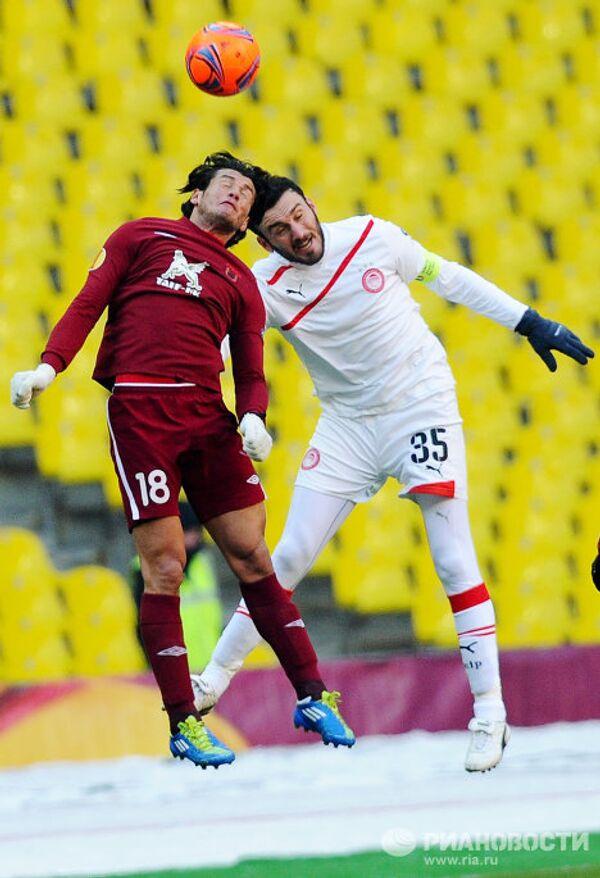 Футбол. Лига Европы. Матч Рубин - Олимпиакос