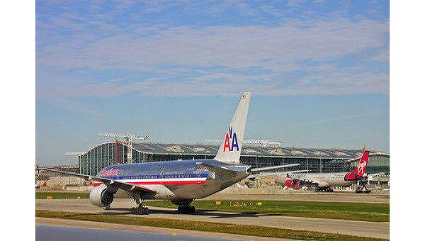 Боинг 767 компании American Airlines. Архив