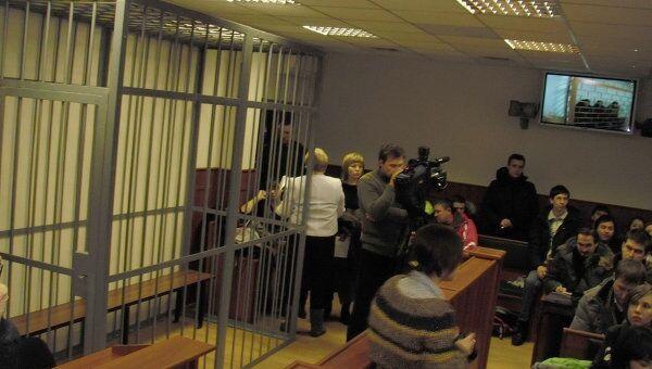 Зал в Смоленском облсуде перед рассмотрением кассации по делу Таисии Осиповой/ Fh[bd
