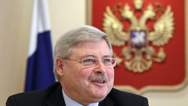 Губернатор Томской области Сергей Жвачкин, архивное фото