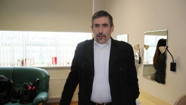 Владимир Линдерман, председатель общества Родной язык. Архивное фото