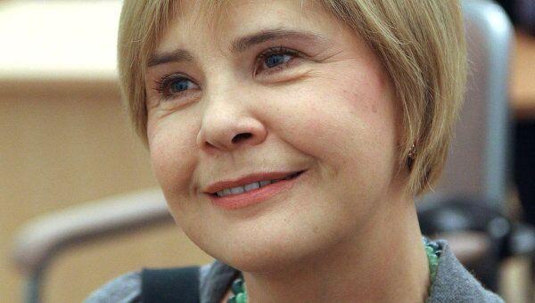 Актриса Татьяна Догилева
