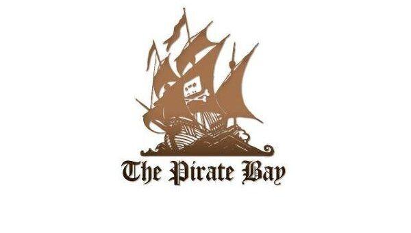 Логотип ресурса The Pirate Bay