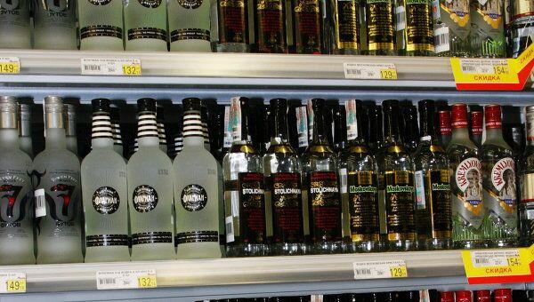 Запрет ночной торговли алкоголем в РФ может быть введен в 2010 году