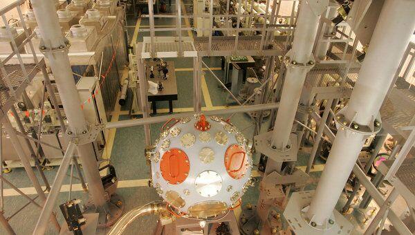 Всероссийский научно-исследовательский институт экспериментальной физики в г. Сарове. Архивное фото