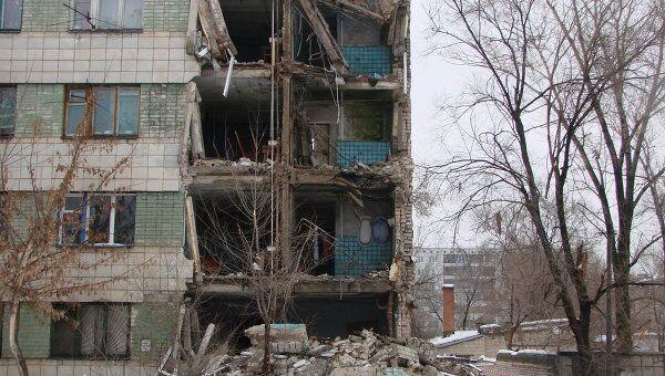 Обрушение многоквартирного дома в Волгограде