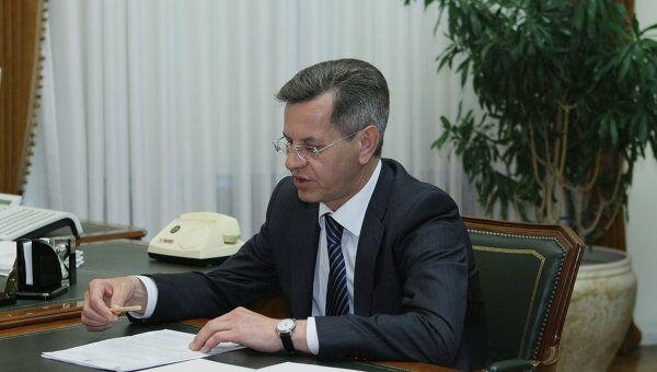 Губернатор Астраханской области Александр Жилкин. Архив