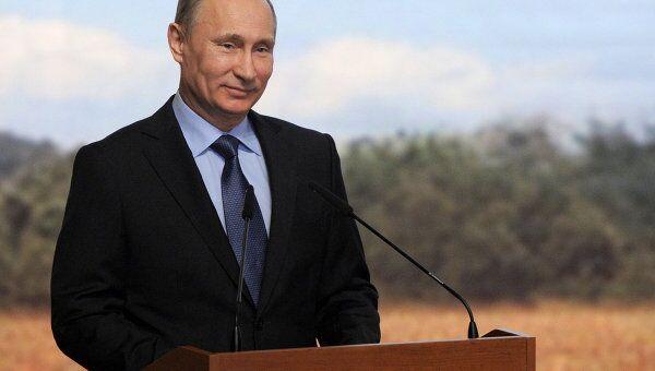 Премьер-министр РФ В.Путин прибыл в Уфу на Всероссийский аграрный форум