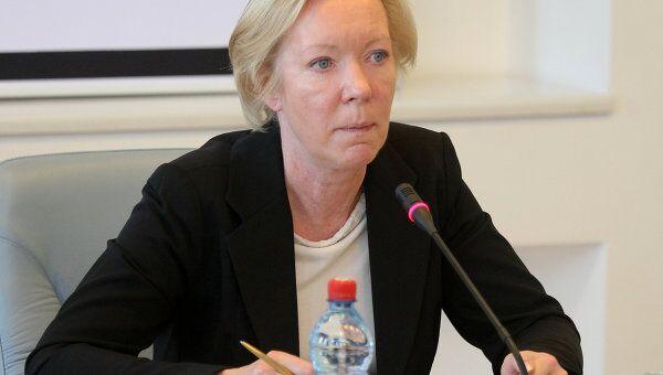 Представитель Евросоюза в Минске Майра Мора. Архивное фото