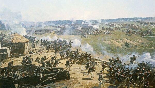 Панорама Бородинская битва. Архив