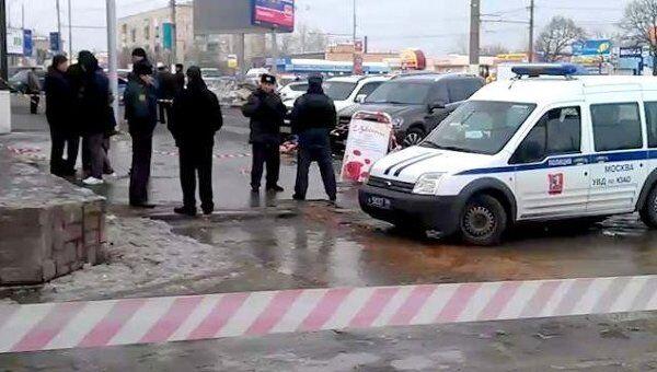 Полицейские оцепили место убийства предпринимательницы Зироян