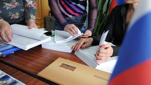 Подготовка участков к голосованию. Архив