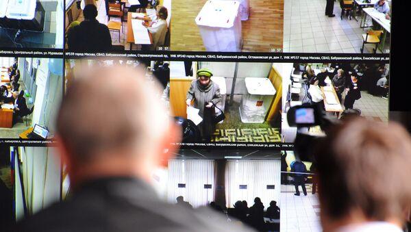 Системы видеонаблюдения на избирательных участках страны