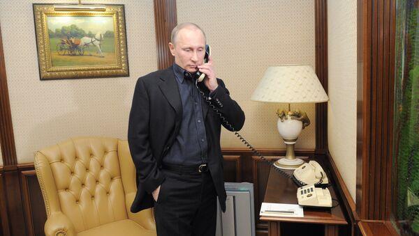 Кандидат в президенты РФ, председатель правительства Владимир Путин. Архив