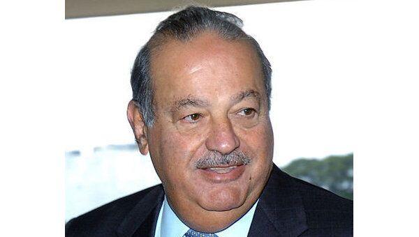 Мексиканский миллиардер Карлос Слим