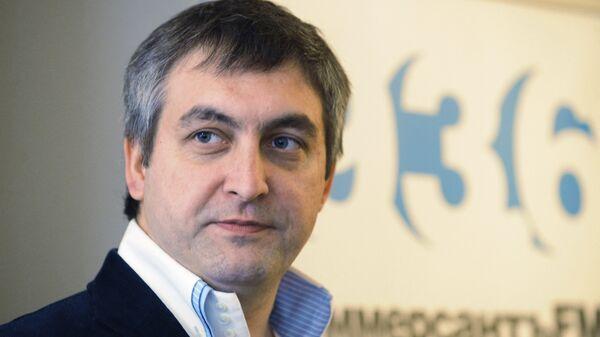 Главный редактор радиостанции КоммерсантЪ FM Дмитрий Солопов