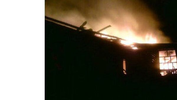 Пожар в Нефедово