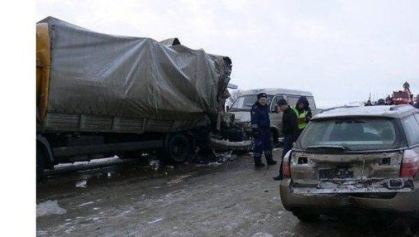 ДТП в Ясногорском районе Тульской области