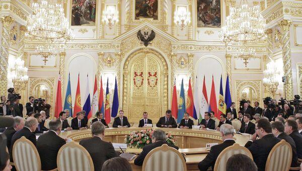 Заседание Межгоссовета ЕврАзЭС. Архивное фото