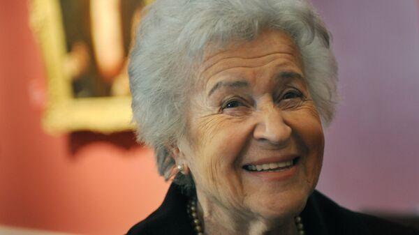Директор Государственного музея изобразительных искусств имени Пушкина Ирина Антонова