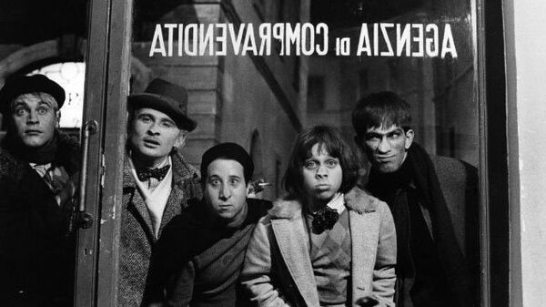 Кадр из фильма Амаркорд