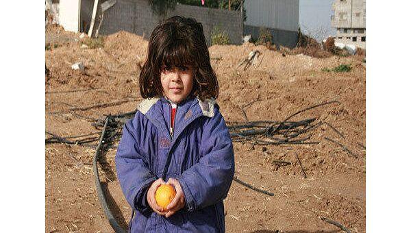 Палестинская девочка. Архив