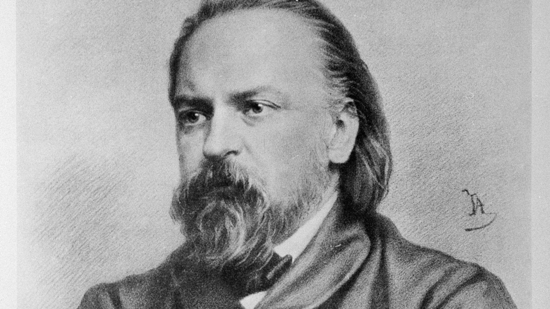 Писатель, философ и публицист Александр Герцен - РИА Новости, 1920, 21.01.2021