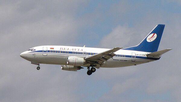 Самолет компании Белавиа. Архивное фото