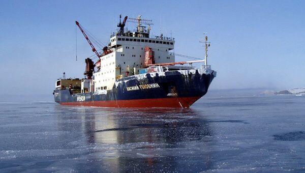Идущее в Антарктиду российское судно освятили в Аргентине