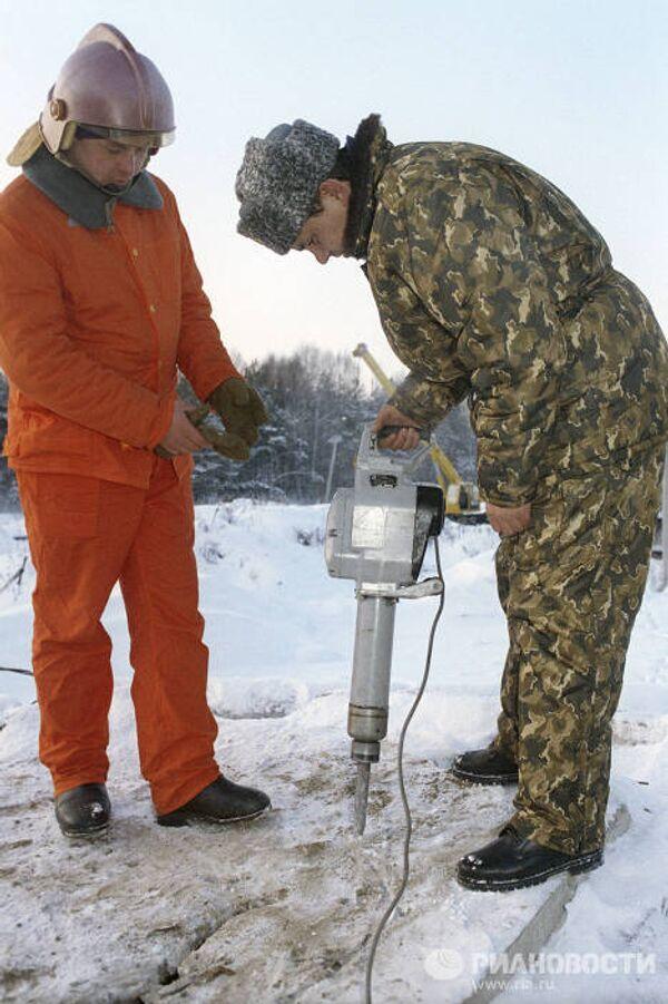 Всероссийские учения служб гражданской обороны под Ногинском