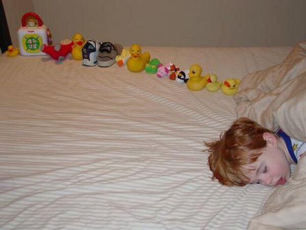 Ребенок, страдающий аутизмом