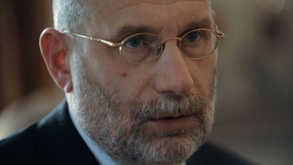 Писатель и переводчик Борис Акунин