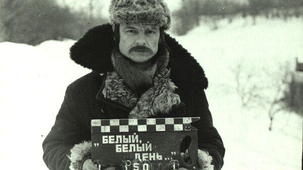 Андрей Тарковский на съемках фильма Зеркало. 1972