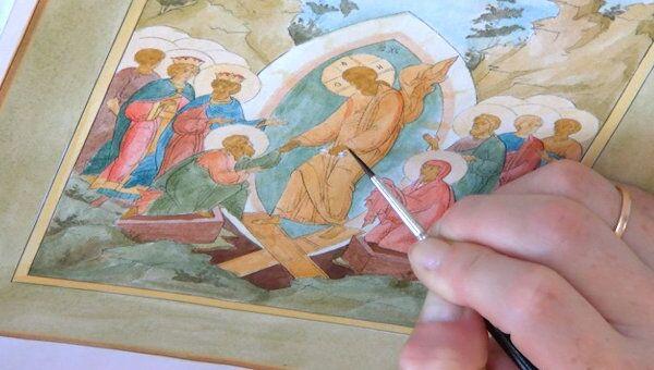 От карандаша до листового золота: как создаются иконы
