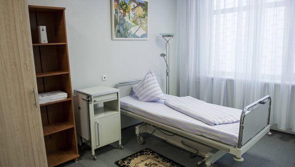 Палата Тимошенко в клинике Укрзализныця в Харькове