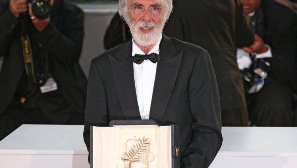 Михаэль Ханеке на закрытии 62-го Международного Каннского кинофестиваля