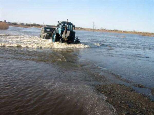 Наводнение в Усть-Уйском