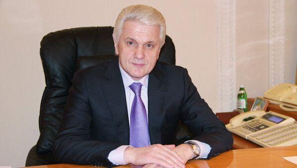 Председатель Верховной Рады Украины Владимир Литвин. Архивное фото