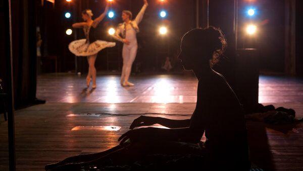 Танцовщики балетной труппы Мариинского театра