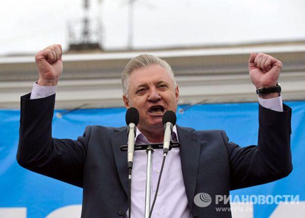 Избранный мэр Астрахани Михаил Столяров