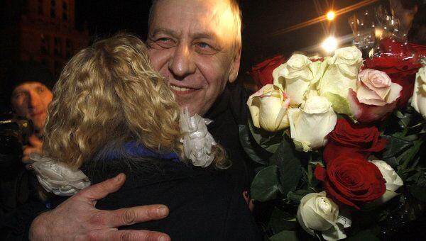 Андрей Санников прибыл в Минск из колонии