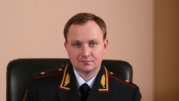 Генерал-майор полиции Сугробов Денис Александрович