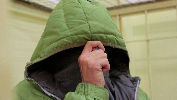 Андрей Каширин, задержанный по уголовному делу об избиении эколога Константина Фетисова, в Химкинском городском суде